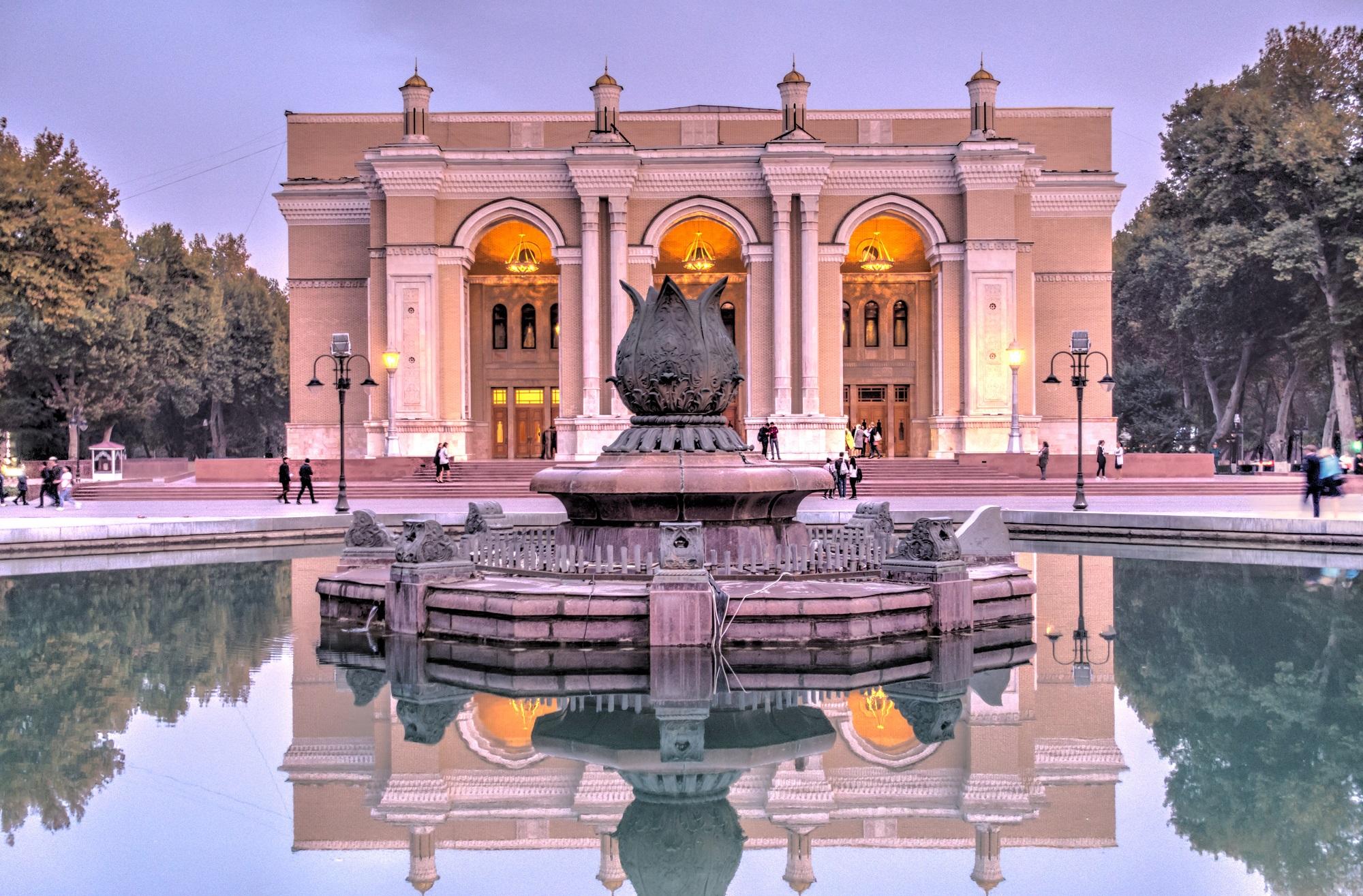 National Opera, Tashkent, Uzbekistan