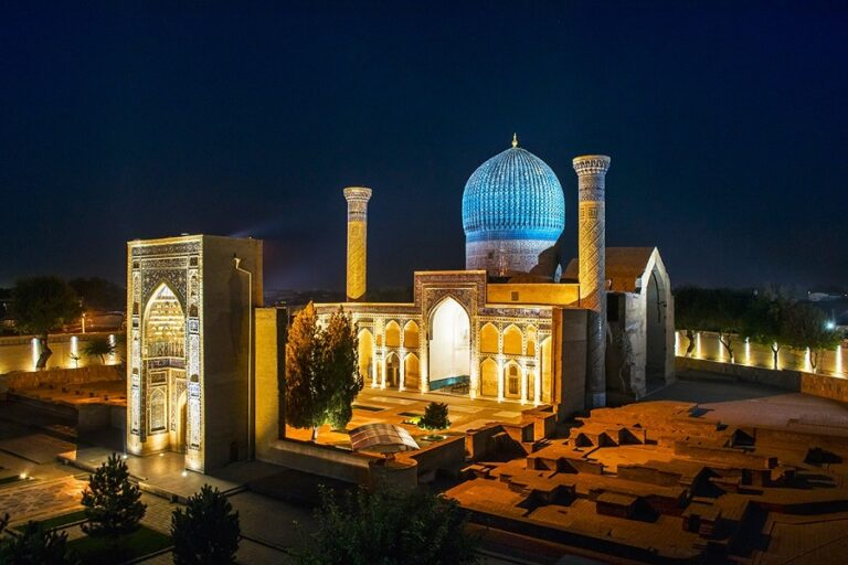 Uzbekistan ancient cities tour