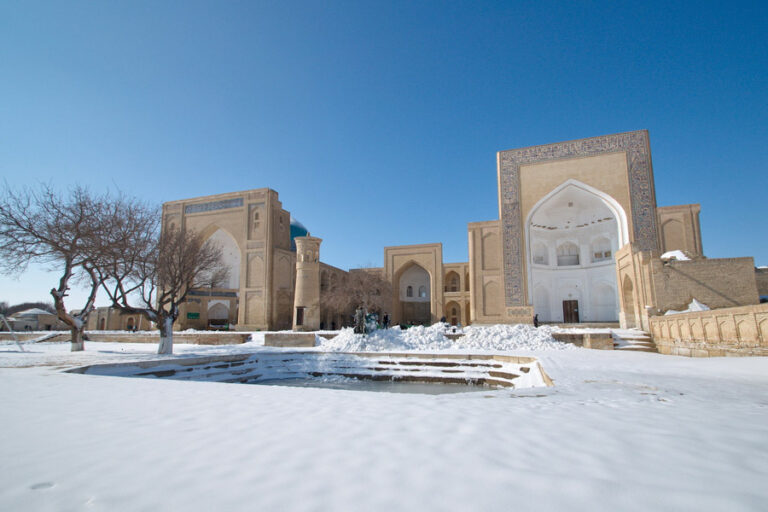 Uzbekistan winter tour