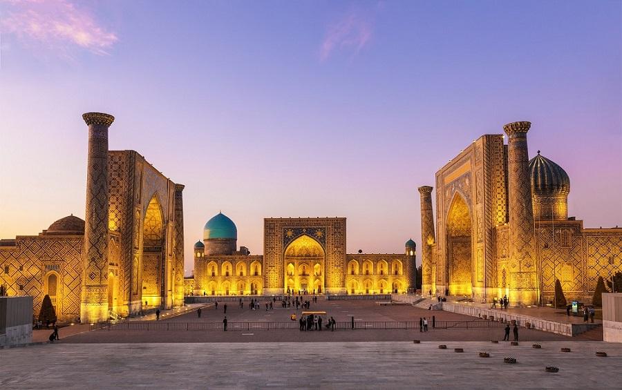Visit to Samarkand City