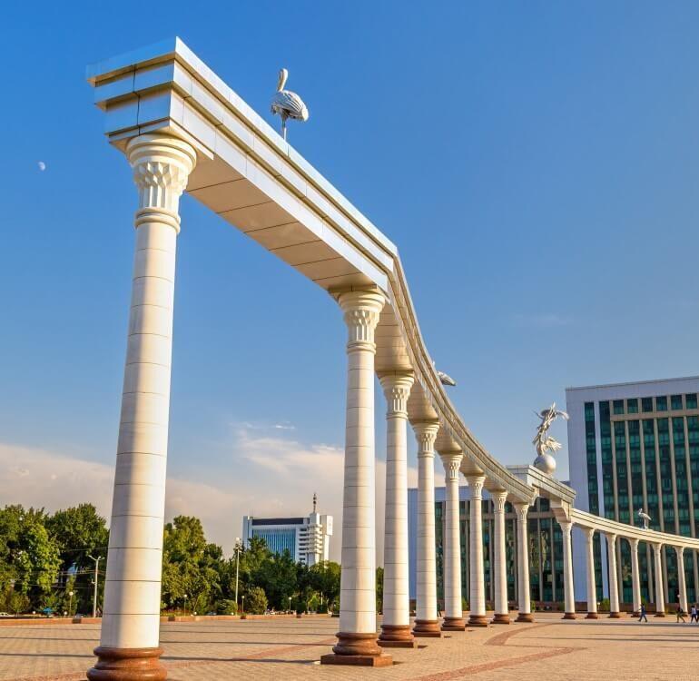 travel to Tashkent