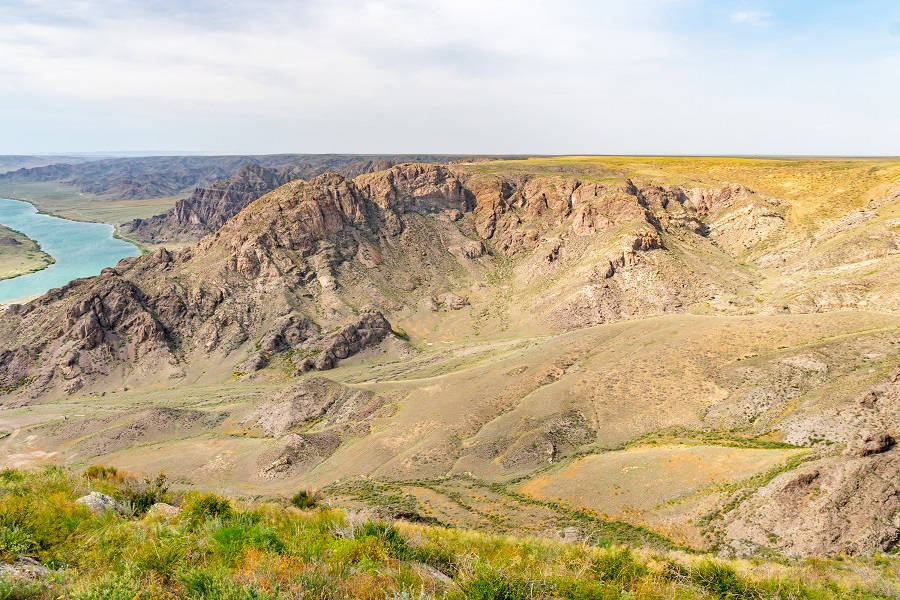Kapchagay Ile River Canyon 10
