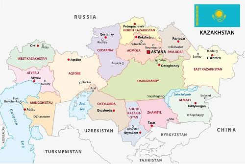 kazakshtan cities