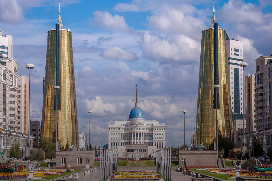 Capitals of Central Asia